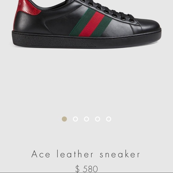4b0a9a46307 Gucci Shoes - Gucci ace sneakers black